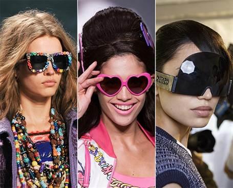 женские солнцезащитные очки весна-лето 2016, модные и стильные на фото 2