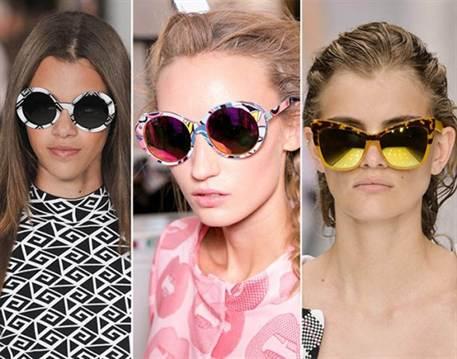 женские солнцезащитные очки весна-лето 2016, модные и стильные на фото 3