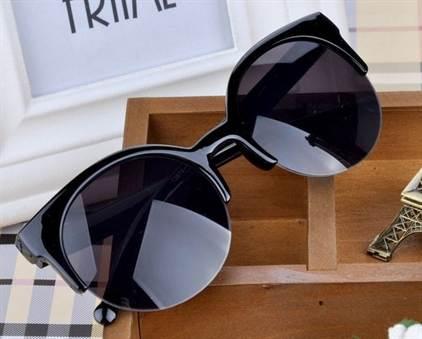 модные солнцезащитные очки фасона «бабочка» и «кошачьи глазки» на фото 2