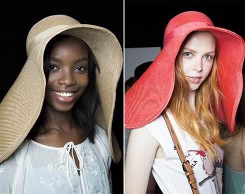 шляпки и шляпы с полями 1