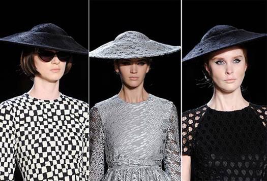 шляпки и шляпы с полями 2