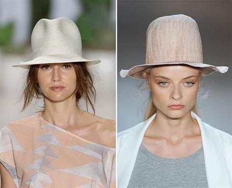 модные тенденции на головные уборы весны 2016 4
