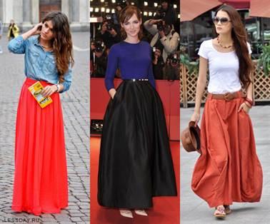 многослойные юбки 1