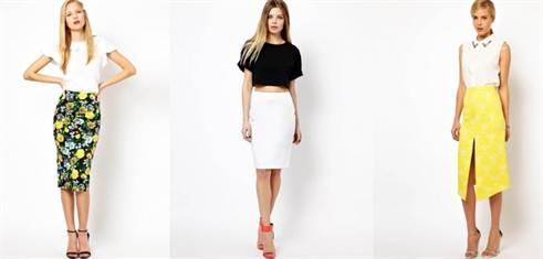 модная юбка-карандаш 1