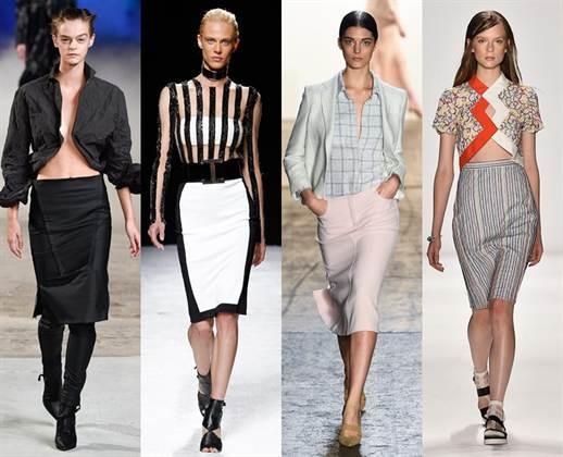 модная юбка-карандаш 3