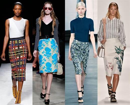 самые модные юбки весна-лето 2016, фото 3
