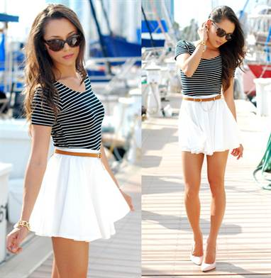 белые юбки 1