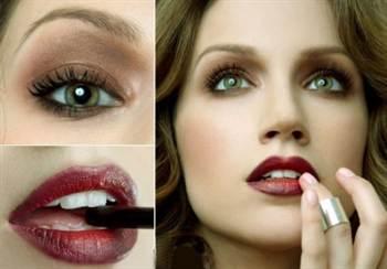 фото красивого и модного макияжа на последний звонок 3