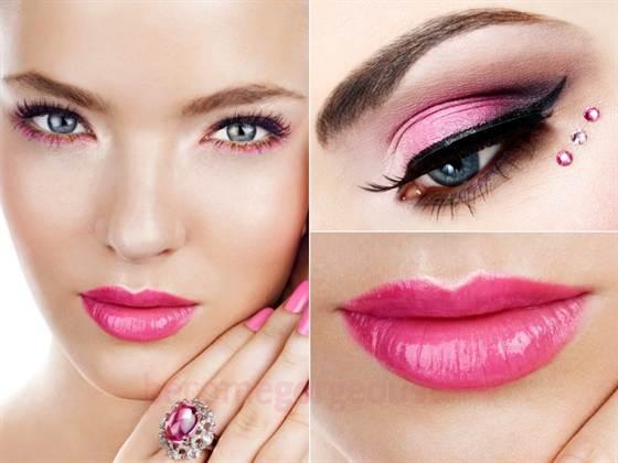 фото модного и красивого макияжа на выпускной вечер 1