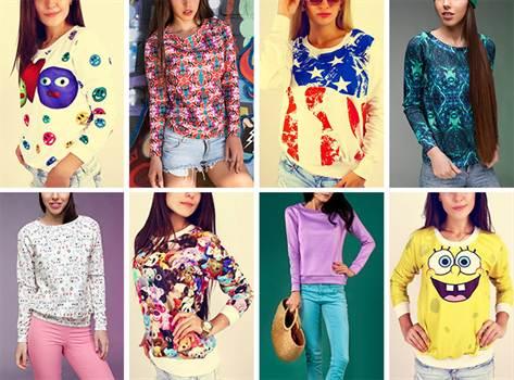 модные свитера, кардиганы, свитшоты, толстовки и джемпера весна-лето 2016
