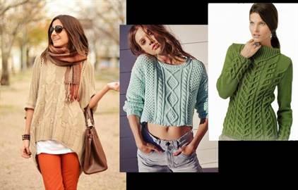 модные свитера с длинными рукавами весна-лето 2016 1