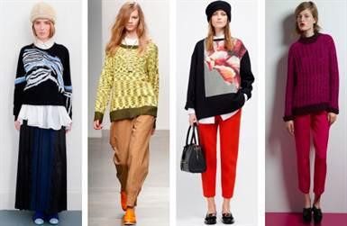 модные свитера с длинными рукавами весна-лето 2016 2