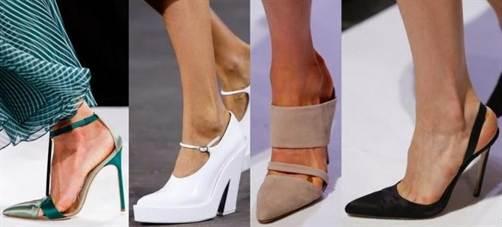модные туфли сезона весна-лето 2016