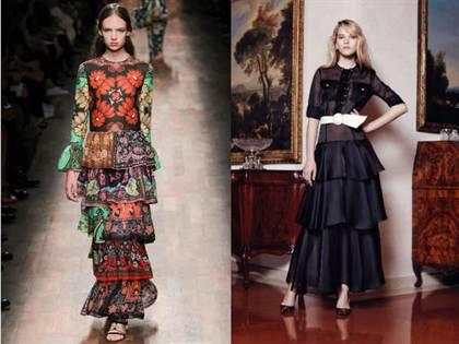 вечерние платья весна-лето 2016, модные и красивые фасоны на фото 2