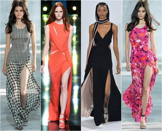 вечерние платья весна-лето 2016, модные и красивые фасоны на фото 3