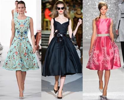 вечерние платья в стиле ретро 2