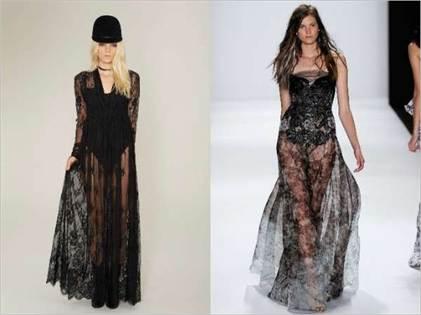 прозрачные платья в бельевом стиле 3