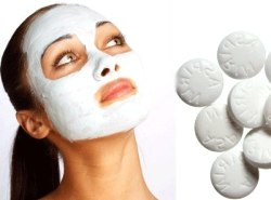 maska-iz-aspirina-i-meda