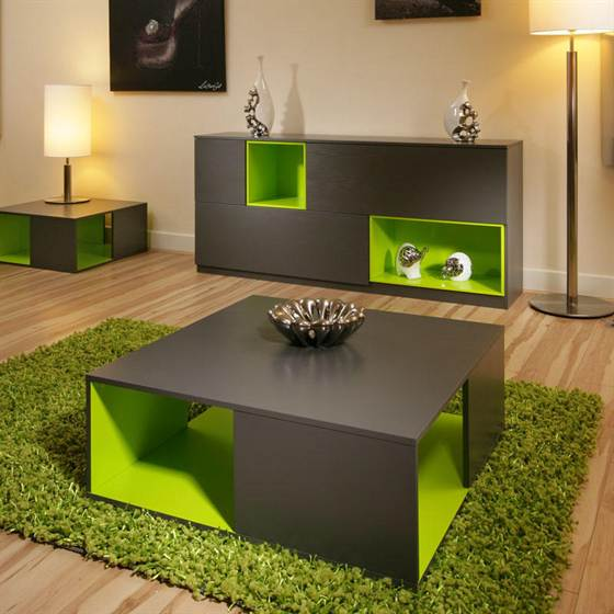 Charming Coffee Table Design Green Rug Lime Green and Grey Bedroom