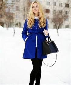 модный цвет пальто