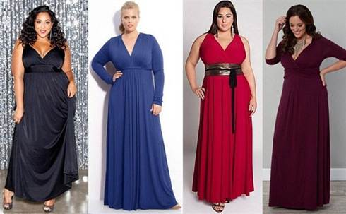 модная одежда для полных женщин