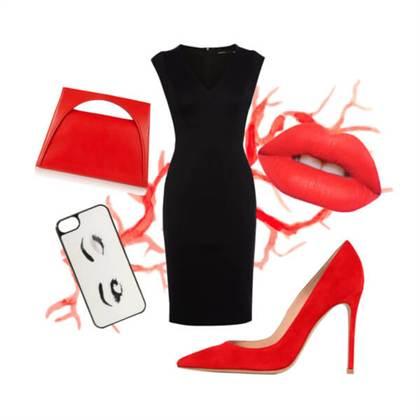 9fa2471b307 С чем же лучше носить туфли красных оттенков
