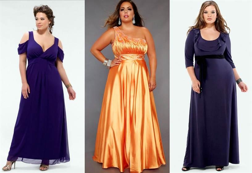 платья на свадьбу для полных женщин