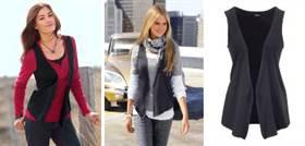 модные жилеты из ткани