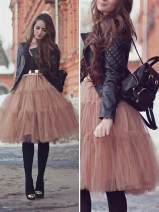 с ечм носить розовую юбку