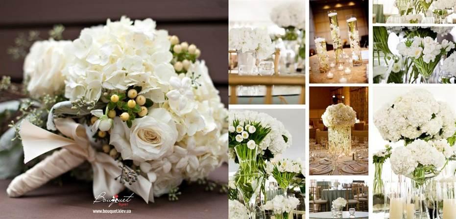 декор свадьбы флористика