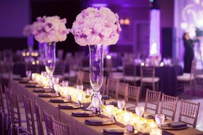 декор свадьбы: флористика