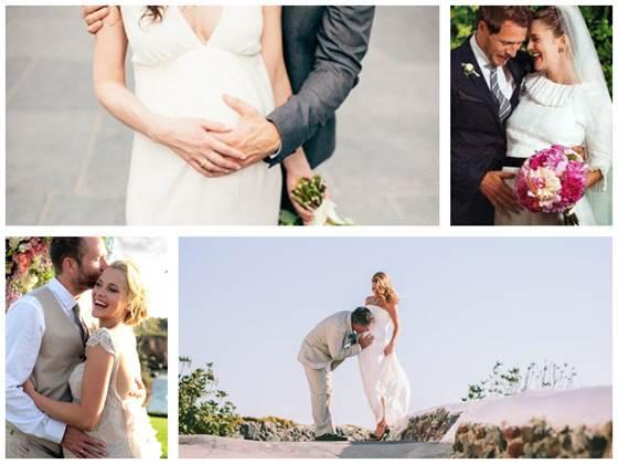 свадьба беременной