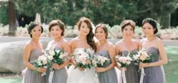 выбрать платья на свадьбу для подружек невесты