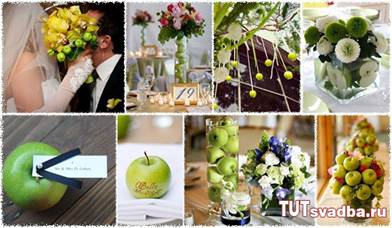 элементы декора свадьбы