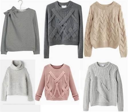 модные свитера 2019 года актуальные модели стили техники