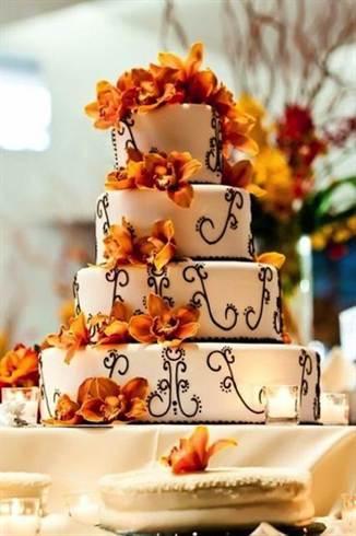 Оформление свадьбы в осеннем стиле