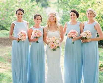 платья на свадьбу для подружек невесты