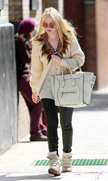 dakota-fanning-wearing-isabel-marant-wedge-sneakers