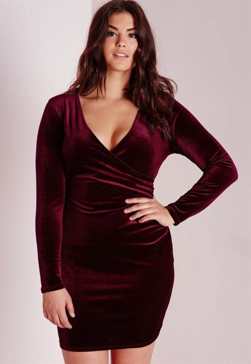 11_plus-size-velvet-wrap-dress